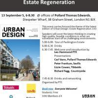 Urban Design Group Events Estate Regeneration