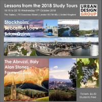 Urban Design Group Events Lessons from 2018 Urban Design Study Tours to Stockholm & Abruzzi, Italy - Alan Stone's Grand Finale Tour