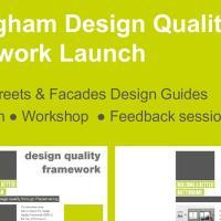 Urban Design Group Events Nottingham Design Quality Framework - Launch Event
