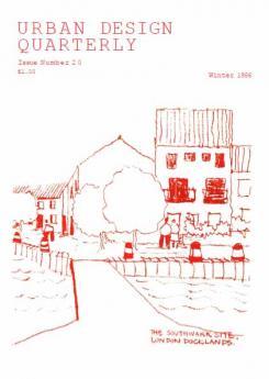 URBAN DESIGN 20 Winter 1986 Publication Urban Design Group