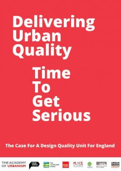 Delivering Urban Equality - Time to get Serious Publication Urban Design Group