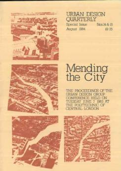 Urban Design 14 & 15 ? August 1984 Publication Urban Design Group