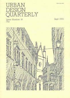 URBAN DESIGN 18 Autumn 1985 Publication Urban Design Group
