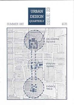 URBAN DESIGN 23 Summer 1987 Publication Urban Design Group