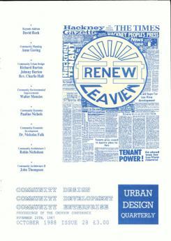 URBAN DESIGN 28 Autumn 1988 Publication Urban Design Group