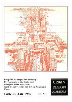 URBAN DESIGN 29 Winter 1989 Publication Urban Design Group