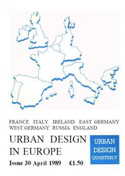 URBAN DESIGN 30 Spring 1989 Publication Urban Design Group