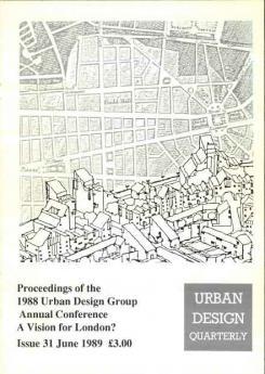 URBAN DESIGN 31 Summer 1989 Publication Urban Design Group