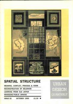 URBAN DESIGN 32 AUTUMN 1989 Publication Urban Design Group