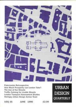 URBAN DESIGN 35 Summer 1990 Publication Urban Design Group