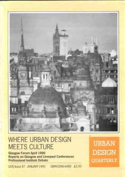 URBAN DESIGN 37 Winter 1991 Publication Urban Design Group