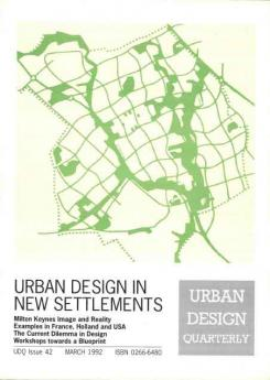 URBAN DESIGN 42 Spring 1992 Publication Urban Design Group