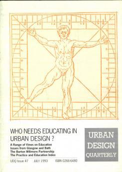 URBAN DESIGN 47 Summer 1993 Publication Urban Design Group