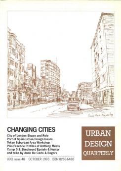 URBAN DESIGN 48 Autumn 1993 Publication Urban Design Group
