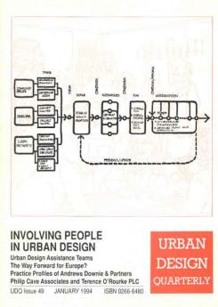 URBAN DESIGN 49 Winter 1994 Publication Urban Design Group
