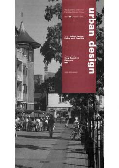 URBAN DESIGN 56 Autumn 1995 Publication Urban Design Group
