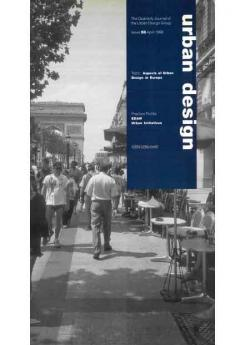 URBAN DESIGN 58 Spring 1996 Publication Urban Design Group