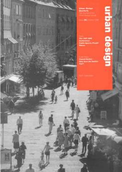 URBAN DESIGN 68 Autumn 1998 Publication Urban Design Group