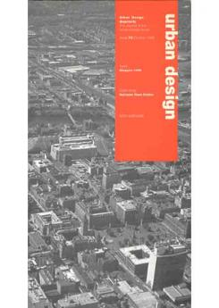 URBAN DESIGN 72 AUTUMN 1999 Publication Urban Design Group