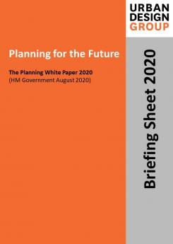 Planning for the Future Publication Urban Design Group
