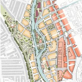 Leicester Waterside Regeneration Project Images