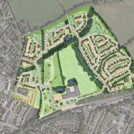 Four Elms Masterplan, Edenbridge, Kent  Project Images