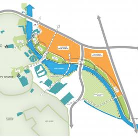 Derby Riverside Masterplan  Project Images