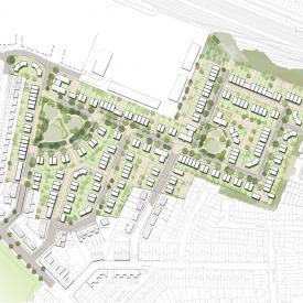 Loftus Garden Village, Newport Project Images