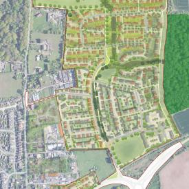 North of Water Lane, Angmering, West Sussex (2018) - Masterplan Project Images
