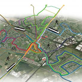 Bicester Sustainable Transport Strategy Project Images