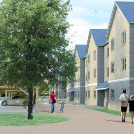 Leigh Road, Wimborne, Dorset, UK (Masterplan for 18.5ha site providing174 homes and 8ha for Community Sports Facility) Project Images