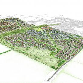 Longcross Village, Surrey Project Images