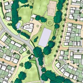 Horton Heath, Strategic Urban Extension Project Images