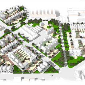 Trident Site, Heyford Park Project Images
