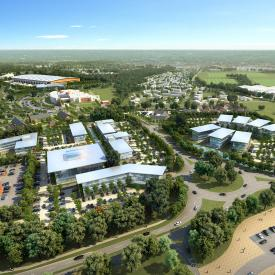 Adanac Park Development Framework, Nursling, Southampton Project Images