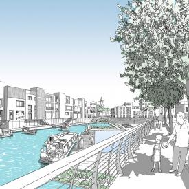 Trent Basin and Nottingham Waterside Project Images