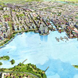 HuaRong Garden City Master Plan, Changsha, China Project Images