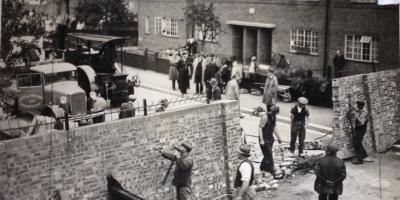 The walls were taken down in 1959