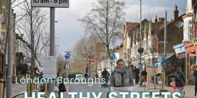 Urban Design Group Events London Borough Healthy Streets Scorecard 2021
