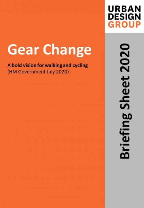 Gear Change Publication Urban Design Group
