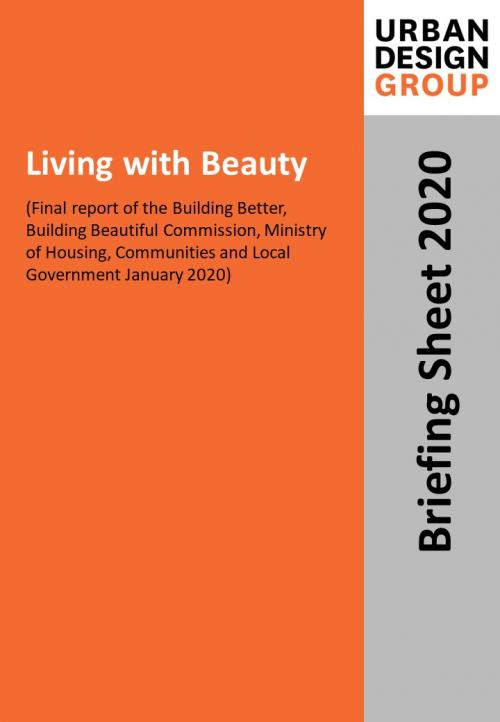 Living with Beauty  Publication Urban Design Group
