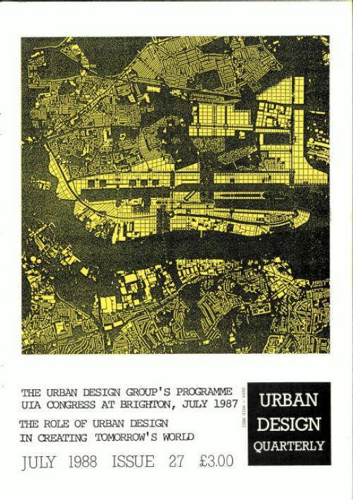 URBAN DESIGN 27 Summer 1988  Publication Urban Design Group