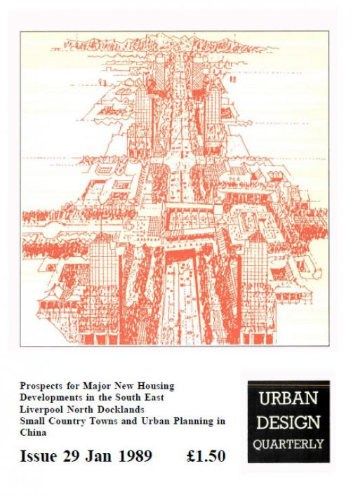 URBAN DESIGN 29 Winter 1989 Publication Urban Design Group