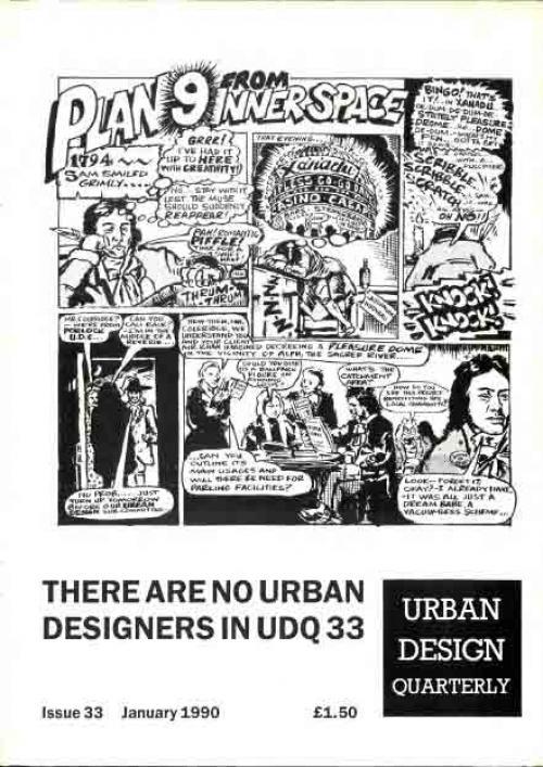 URBAN DESIGN 33 Winter 1990 Publication Urban Design Group