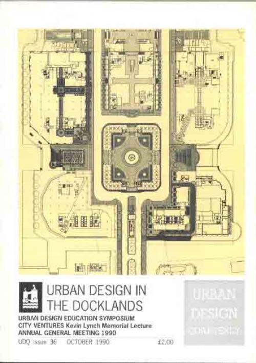 URBAN DESIGN 36 Autumn 1990 Publication Urban Design Group