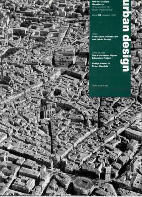 URBAN DESIGN 65 Winter 1998 Publication Urban Design Group