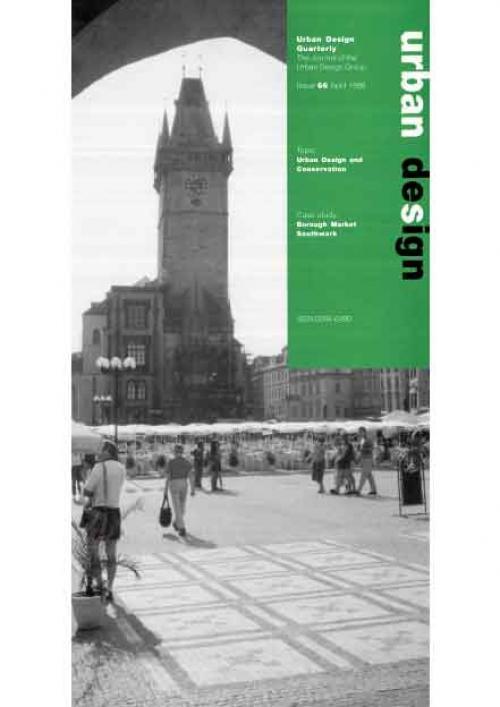 URBAN DESIGN 66 Spring 1998 Publication Urban Design Group