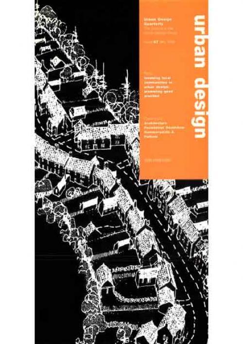 URBAN DESIGN 67 Summer 1998 Publication Urban Design Group