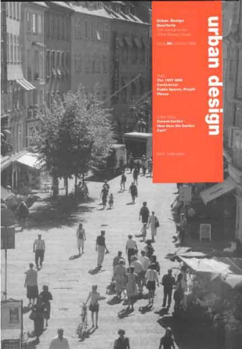 URBAN DESIGN 68 Autumn 1998 Publication Urban Design Group