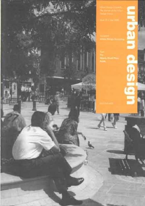 URBAN DESIGN 75 Summer 2000 Publication Urban Design Group